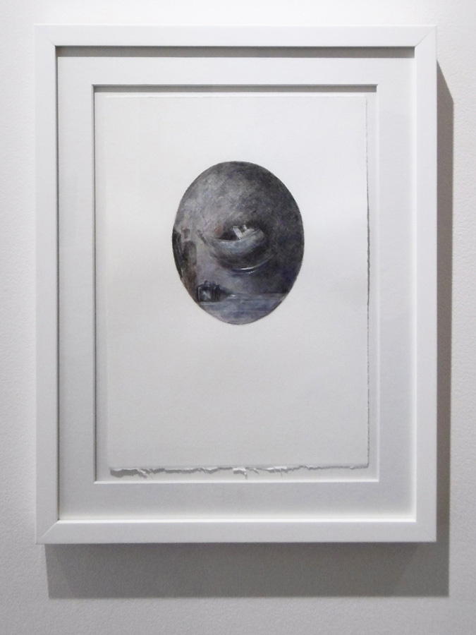 1. 'The Traveller', Karin Wallace, coloured pencil and chalk transfer on Fabriano cotton rag, acquired by the Shire of Mundaring