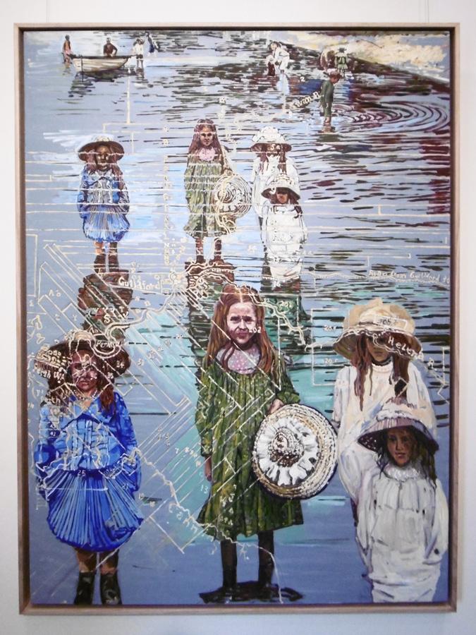 6. 'An Antipodeon Dream', Thomas Hoareau, oil on linen, $5,000