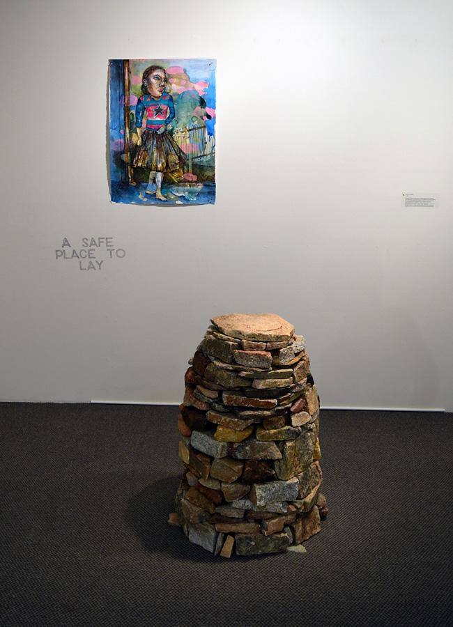 8. 'Dardy', Antony Muia, mixed media installation, $1,900