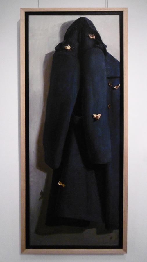 18. 'Hollow Wings', Kieran Ingram, oil on linen, $2,600
