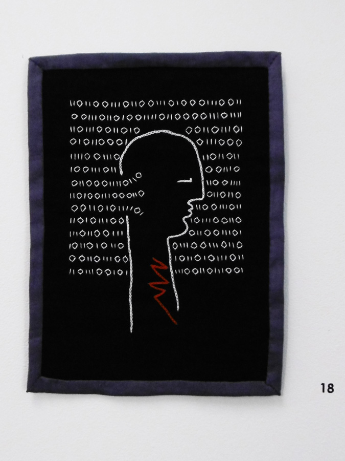 18. 'Untitled', Anne Williams, cotton, linen, $90