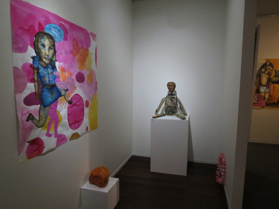 1-2. 'Stepping Stones', Antony Muia, gallery view