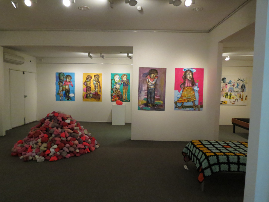 'Stepping Stones', Antony Muia, central gallery view