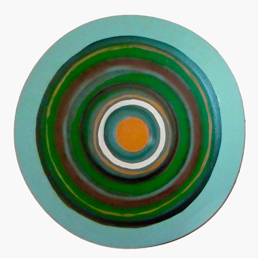 7. 'Target Painting II', Antony Muia, acrylic on canvas, NFS