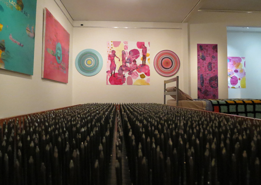 'Stepping Stones', Antony Muia, bed of nails view