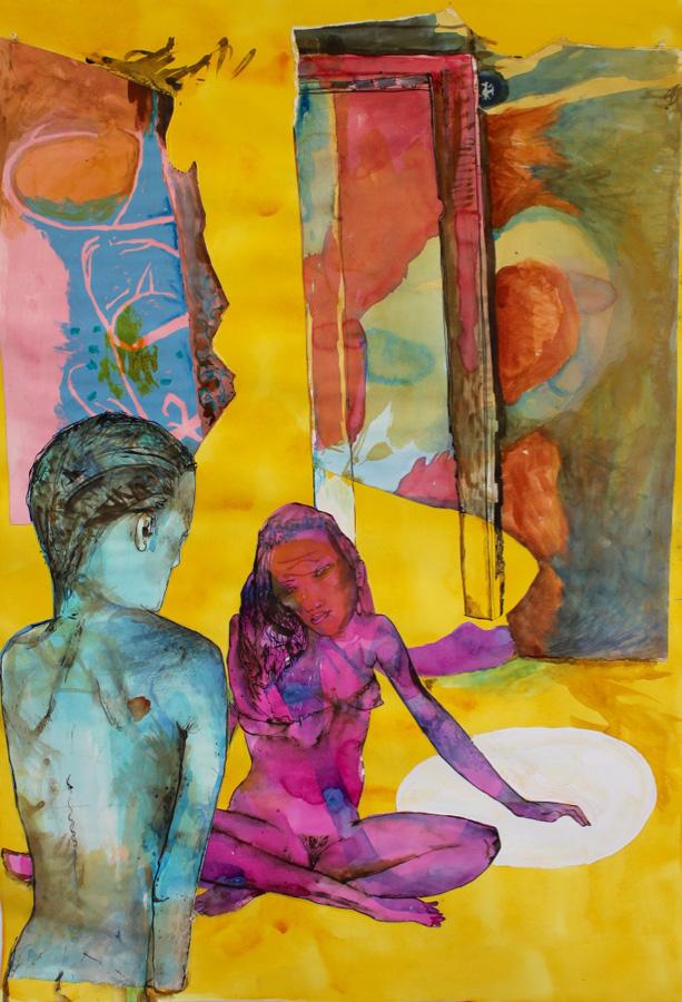 10. 'Untitled', Antony Muia, mixed media on paper, $3,900