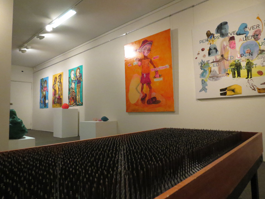 'Stepping Stones', Antony Muia, west wall gallery view