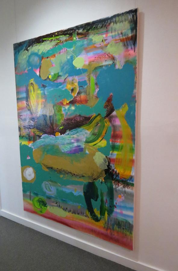 20. 'I LOVE U ALL', Antony Muia, install view