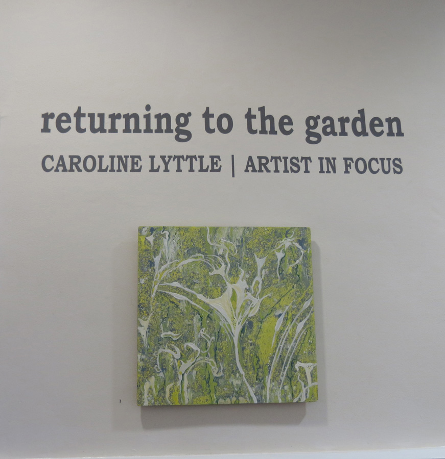 1. 'Returning to the Garden', Exhibition by Caroline Lyttle, entry