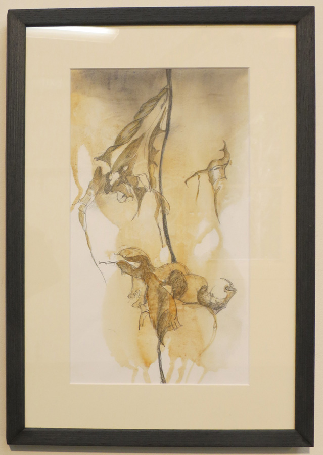4. 'A Fleeting Moment', Caroline Lyttle, watercolour and pencil, $450
