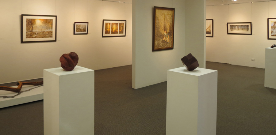 Fire Works  southeast corner Gallery view