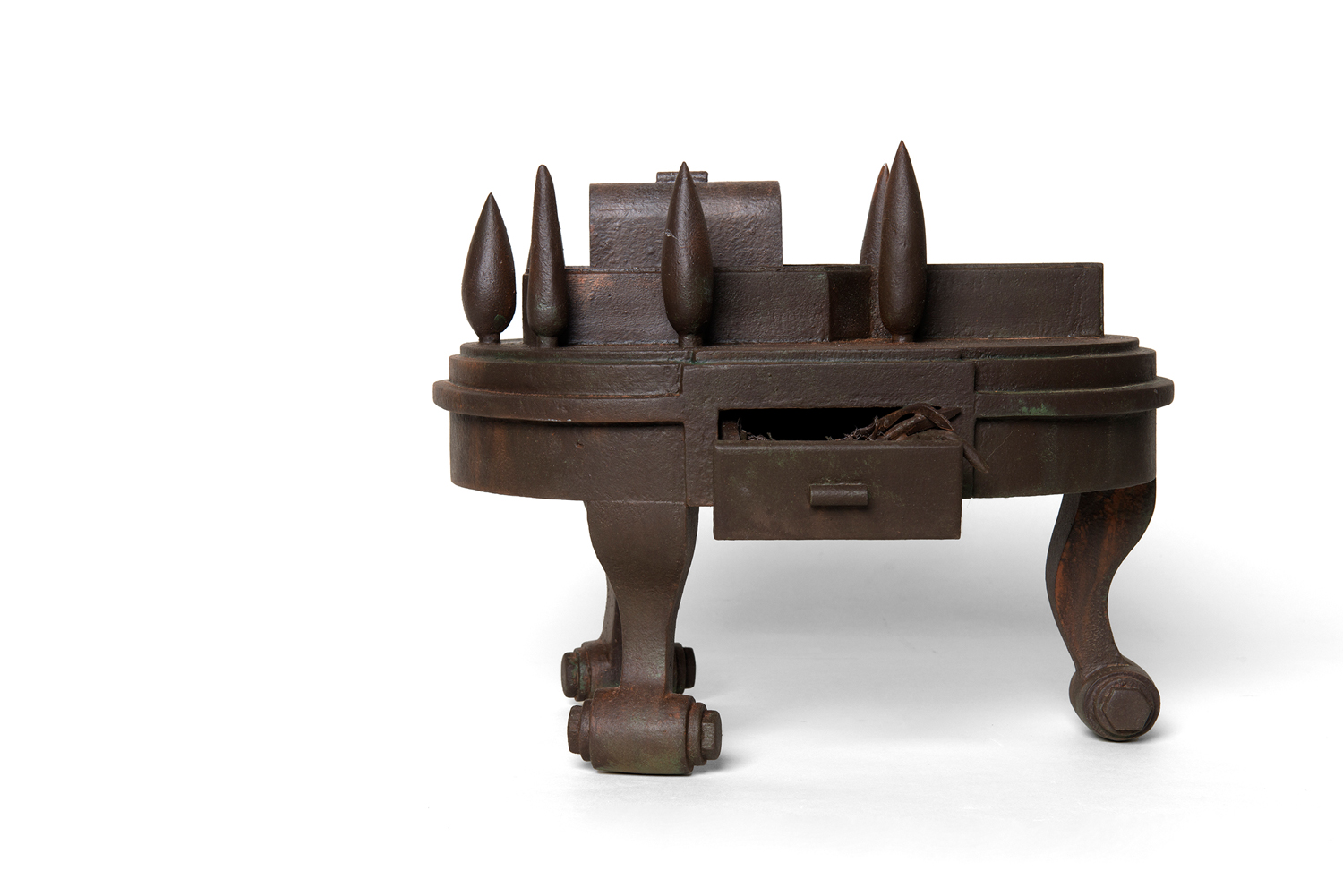 17. 'The Ark of the Raiment', Stuart Elliott, wood, paint, $1,200  Photo: Eva Fernandez