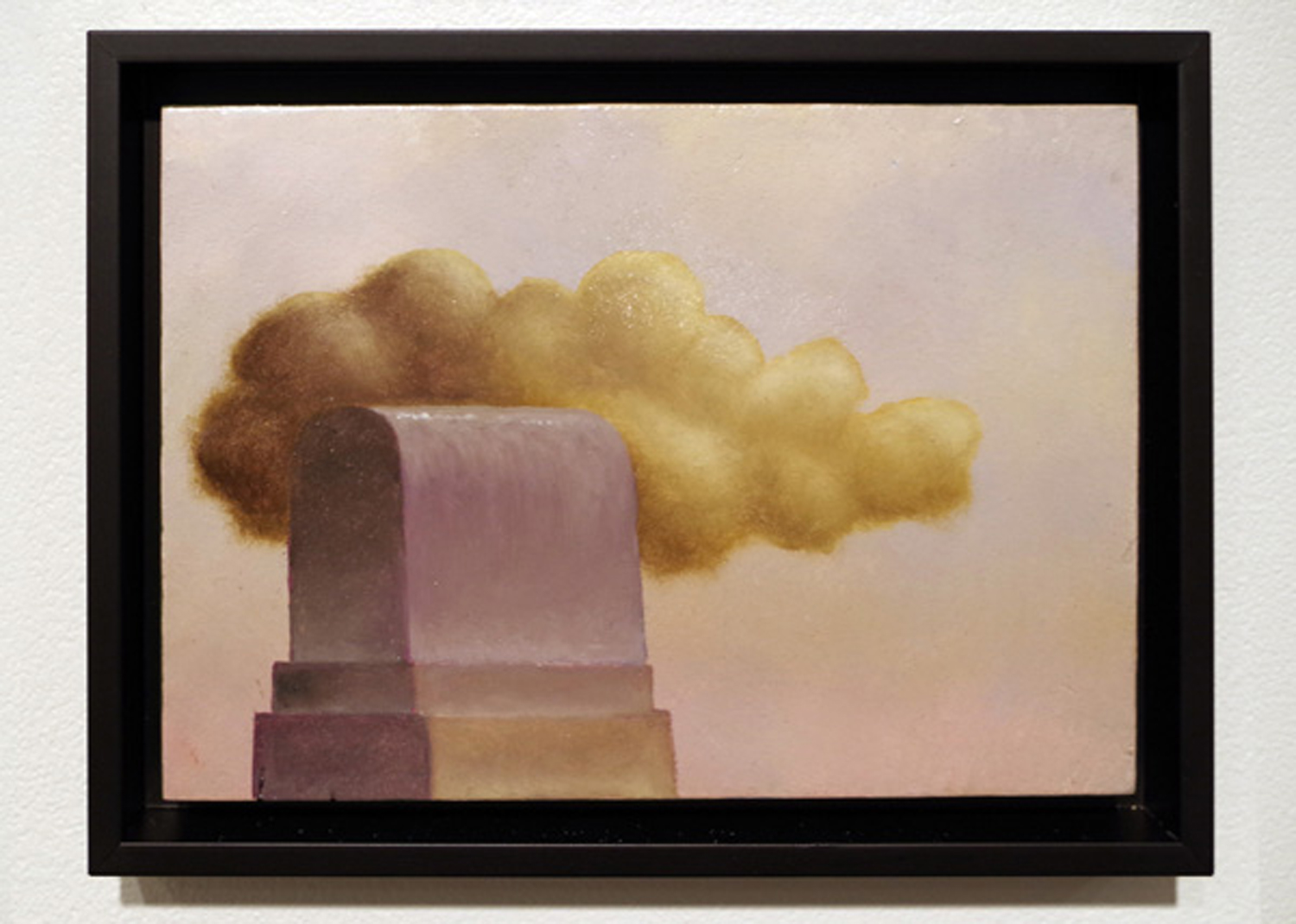 21. 'Creation Machine', Stuart Elliott, oil, varnish on recylced Masonite, $620