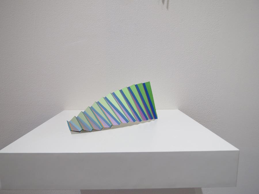 10. 'Colourwave 1', Sarah Thornton-Smith, gouache on paper, foil backing, $180