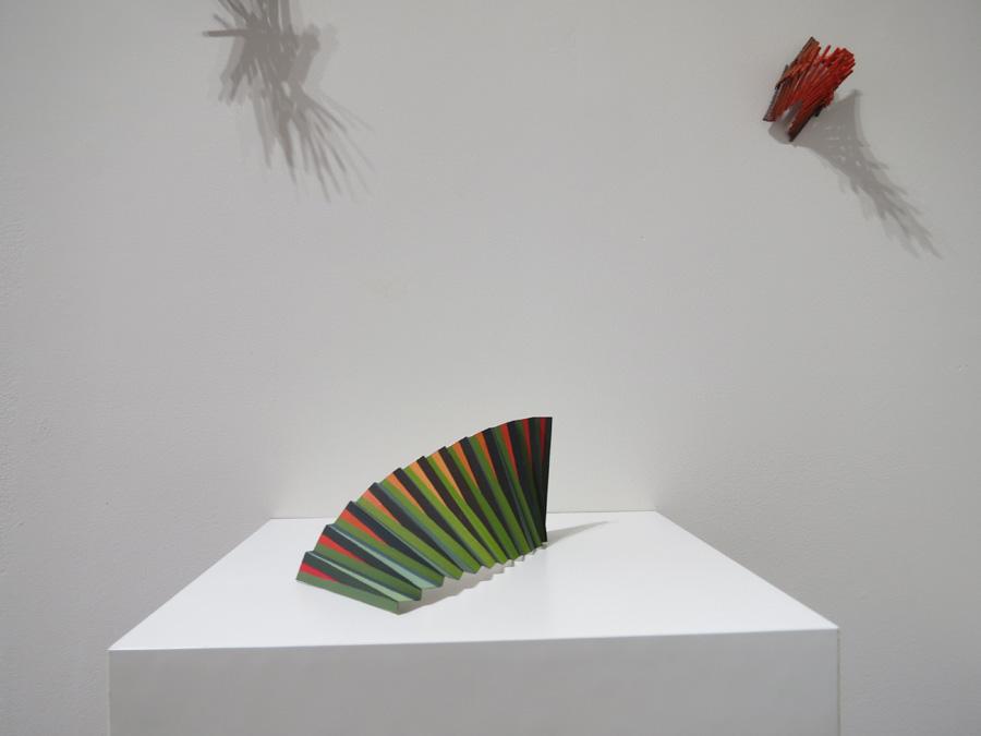 11. 'Colourwave 2', Sarah Thornton-Smith, gouache on paper, foil backing, $180