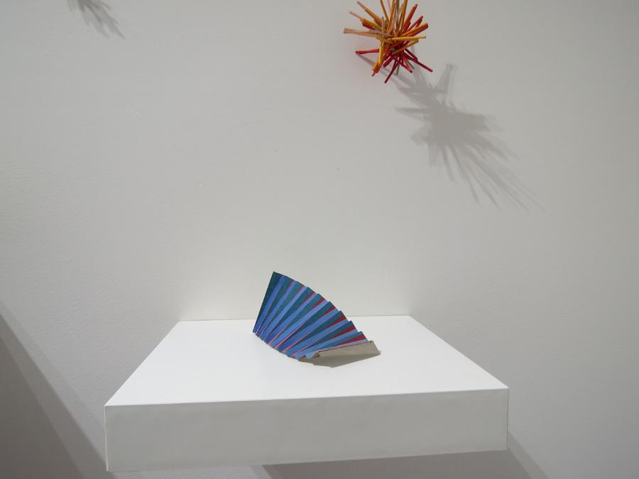 12. 'Colourwave 3', Sarah Thornton-Smith, gouache on paper, foil backing, NFS