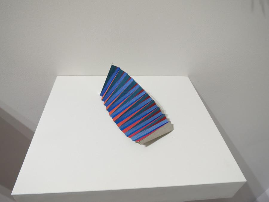 13. 'Colourwave 4', Sarah Thornton-Smith, gouache on paper, foil backing, NFS