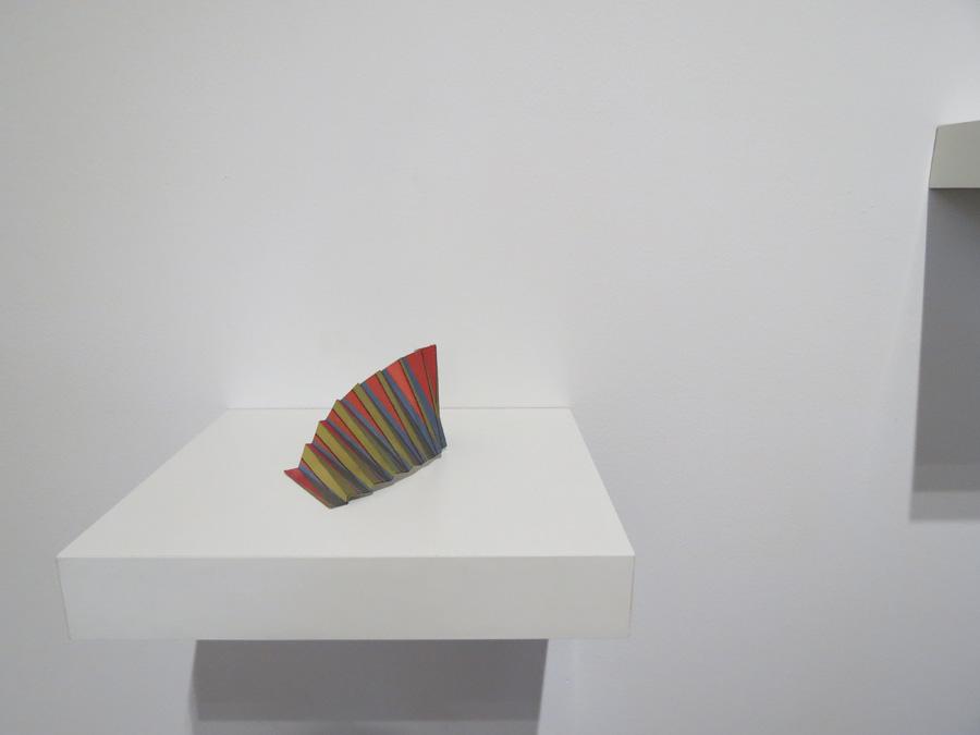 14. 'Colourwave 5', Sarah Thornton-Smith, gouache on paper, foil backing, $180