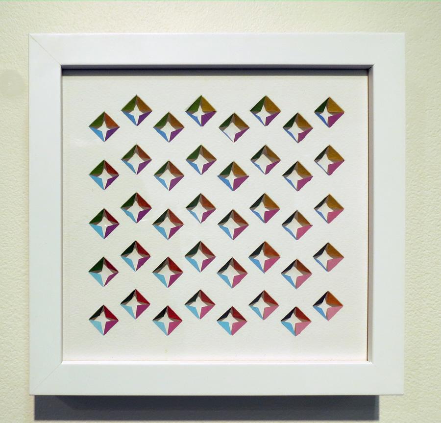 16. 'Jumpin', Sarah Thornton-Smith, gouache on paper, framed, $280