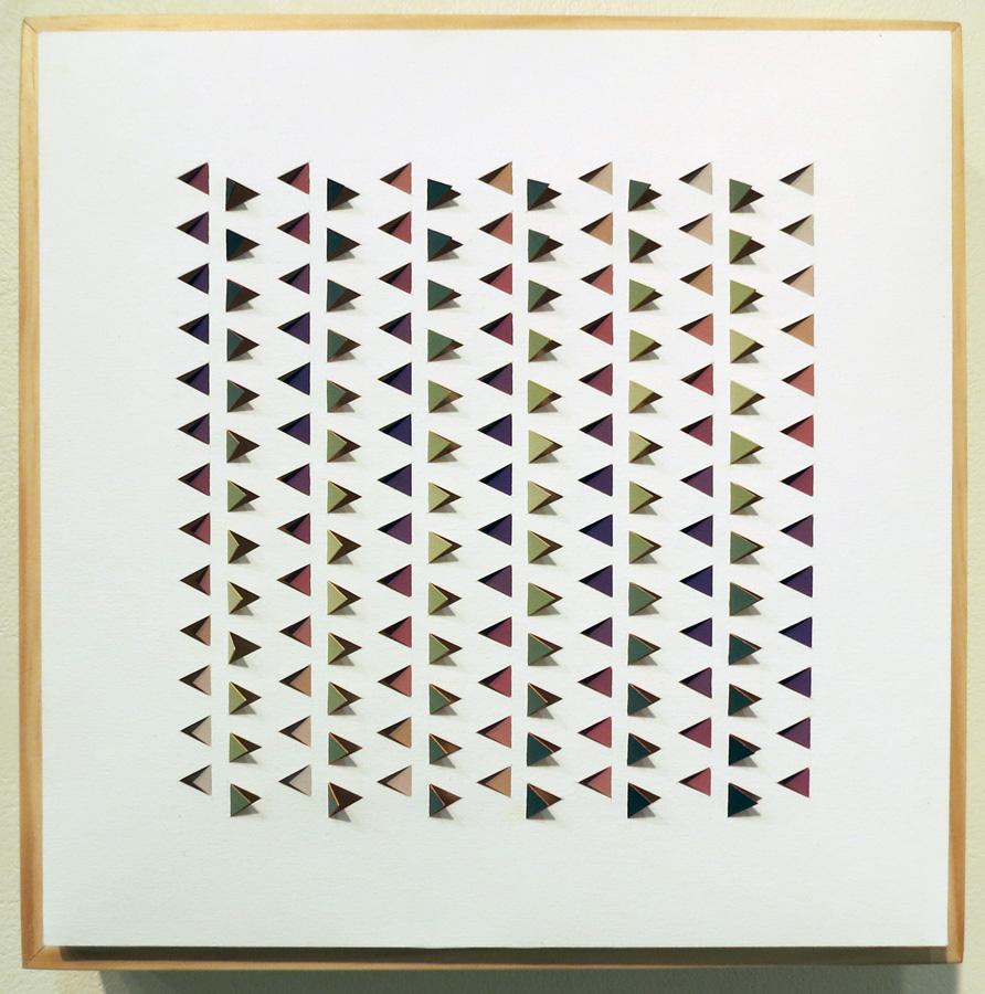 21. 'Electro Backbeat 2', Sarah Thornton-Smith, gouache on paper, boxed frame, $360