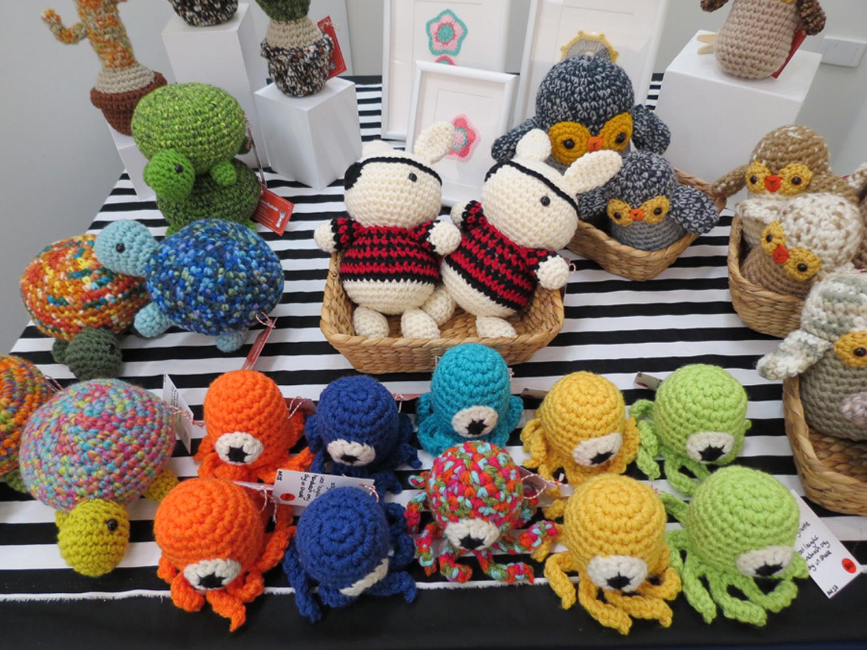 Anna Hadwin 'Crocheted Critters'