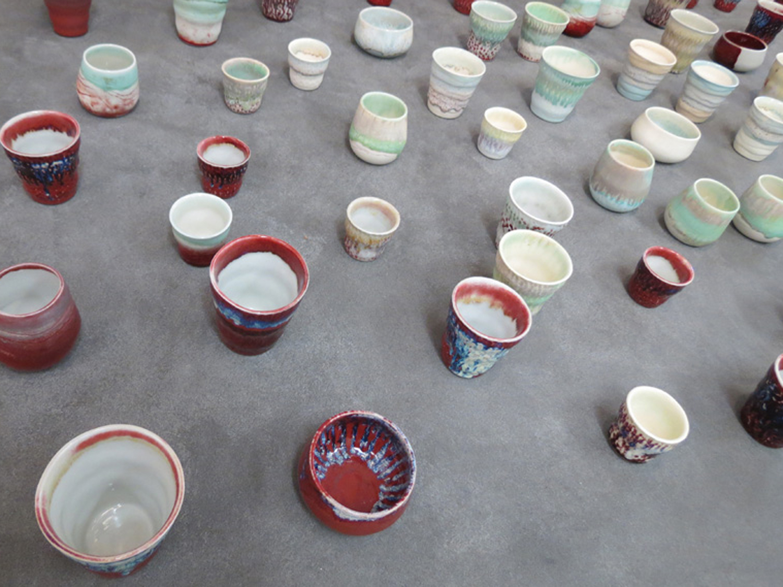 Annemieke Mulders 'T  eapots and B  eakers', ceramic