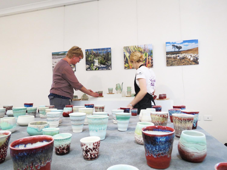 Annemieke Mulders 'Teapots and Beakers', ceramic