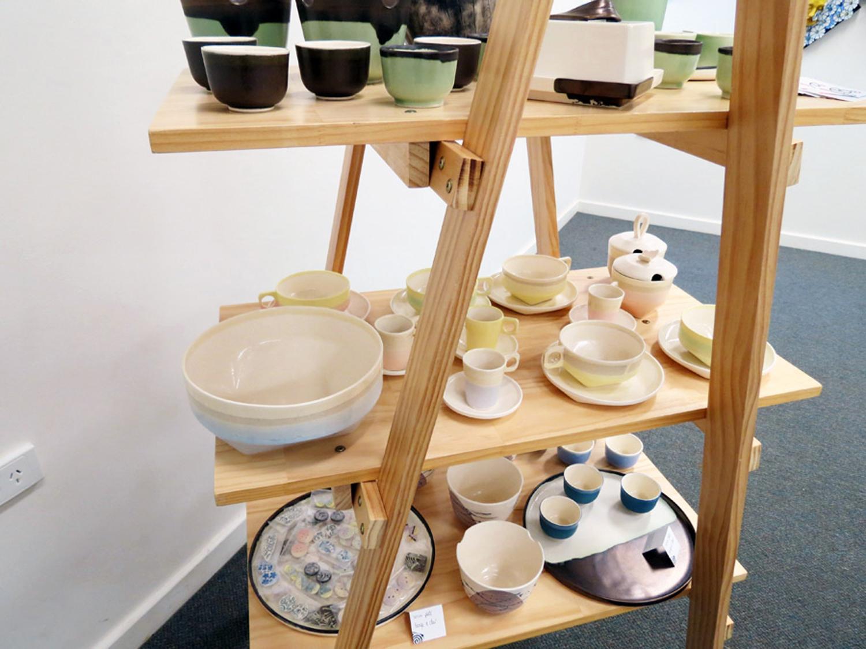 D enise and Patrick Brown VIBE Ceramic Studio 'Tablewares'