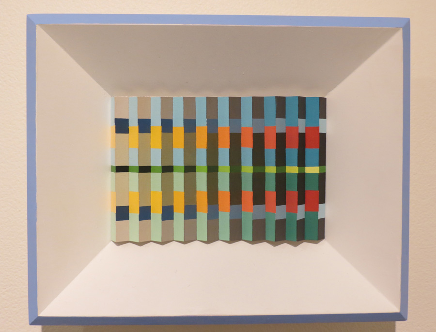 27. 'Reflections by the Sea', Sarah Thornton-Smith, gouache on paper, framed, $360
