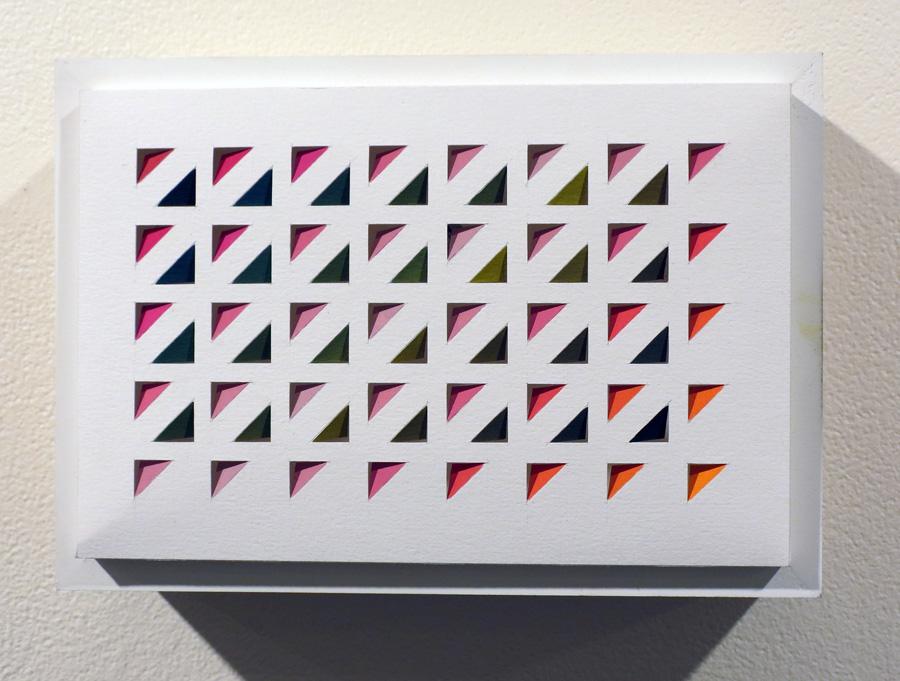 32. 'Lichen Dreaming 4', Sarah Thornton-Smith, gouache on paper, boxed frame, $250.jpg