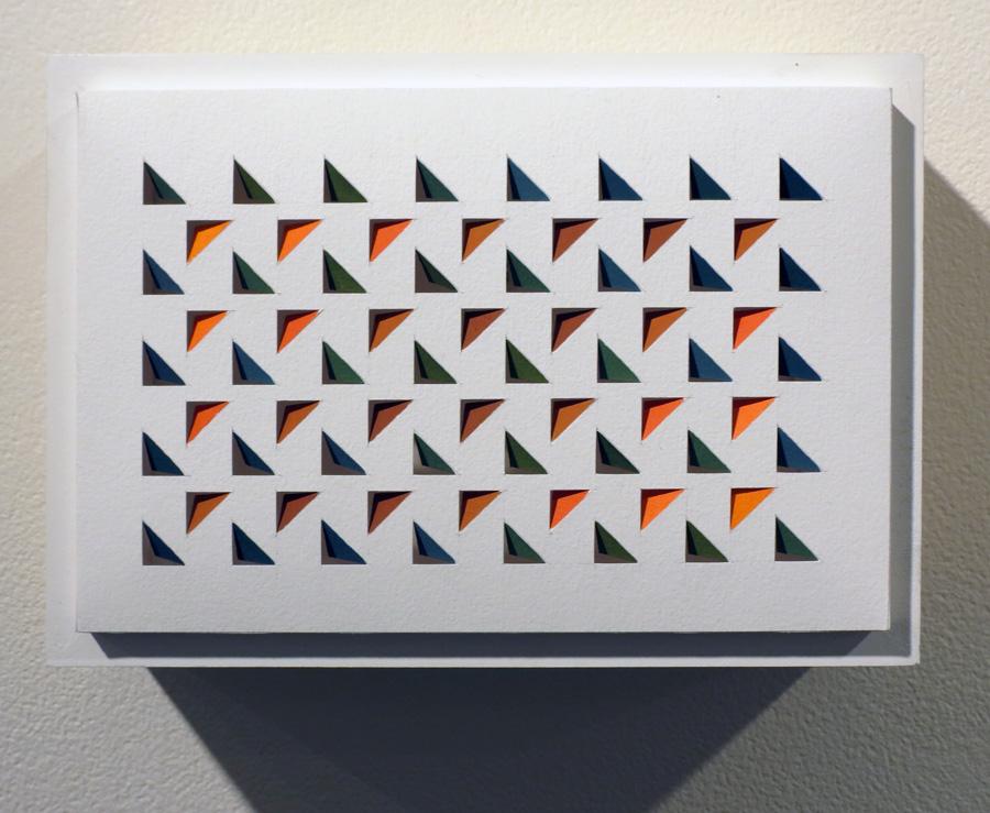 33. 'Lichen Dreaming 5', Sarah Thornton-Smith, gouache on paper, boxed frame, $250.jpg