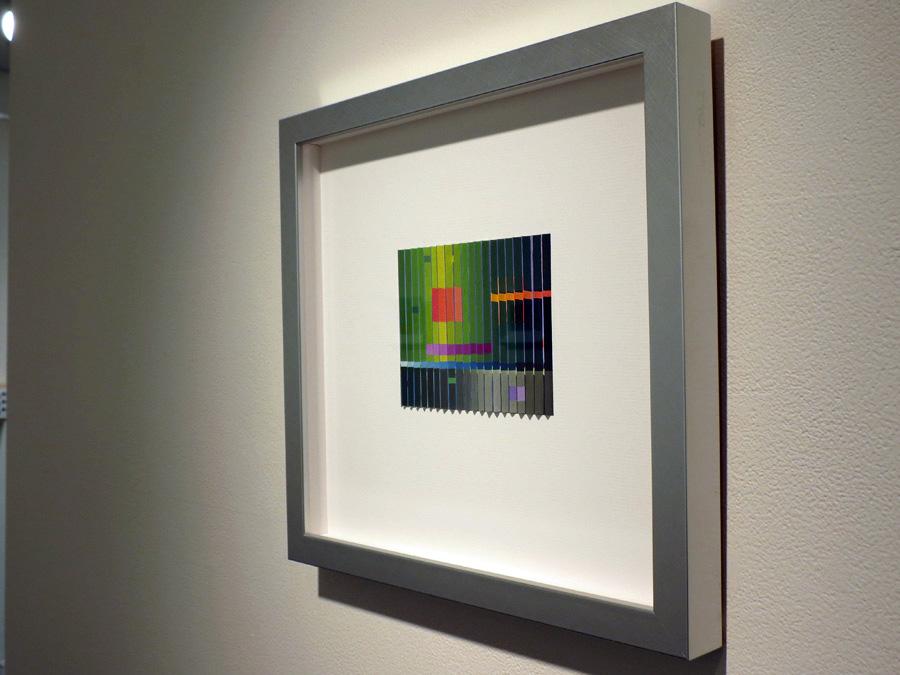 34. 'Morrison's Jazz Interlude', Sarah Thornton-Smith, gouache on paper, framed, $420