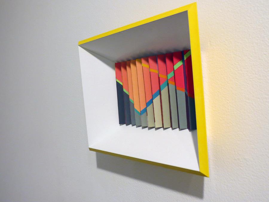 0. 'Summer Rhythm', Sarah Thornton-Smith, gouache on paper, framed, $360
