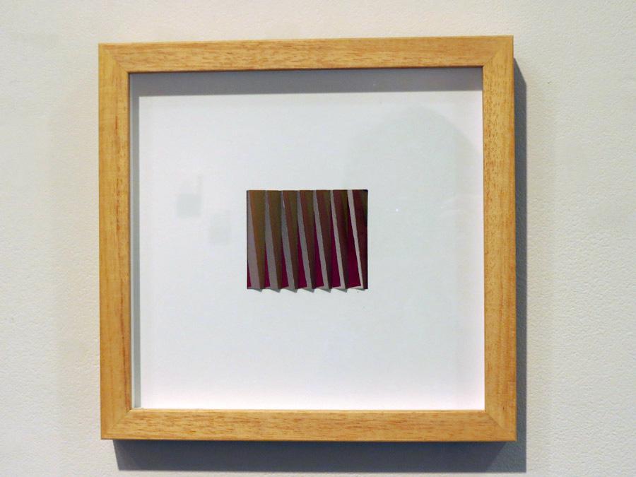 43. 'Twist', Sarah Thornton-Smith, gouache on paper, framed, $340