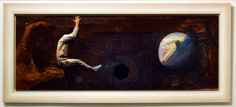 11. Ben Joel, 'Repeat Event', 1997, oil on board, $2,450