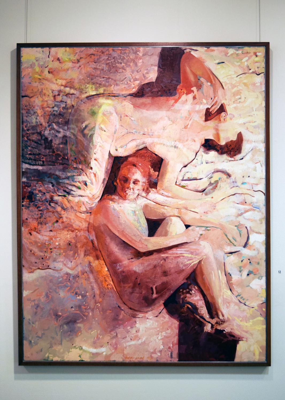 12. Ben Joel, 'Oblivion', 1987, oil on canvas, $5,500