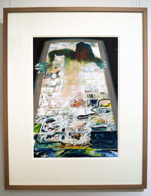 14. Ben Joel, 'Bomb Bay', 1973, gouache, NFS