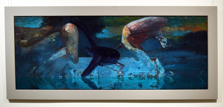 16. Ben Joel, 'Sacred and Profane', 2003-05, oil on board, $3,750