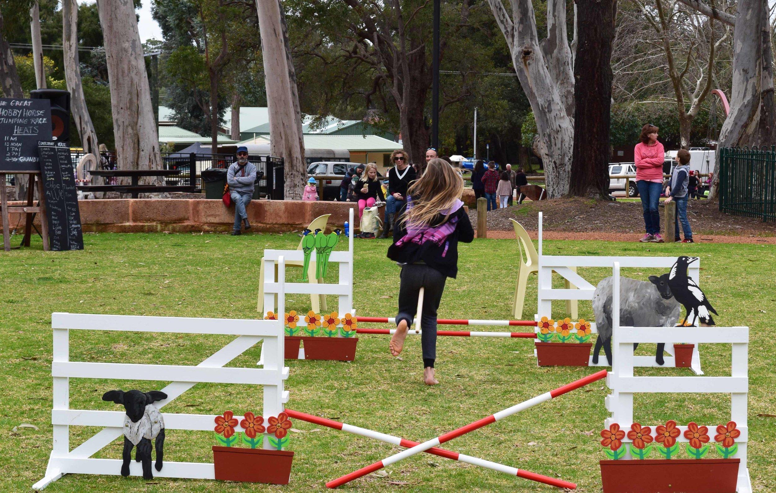 Great Hobby Horse Race Mundaring Arts Centre