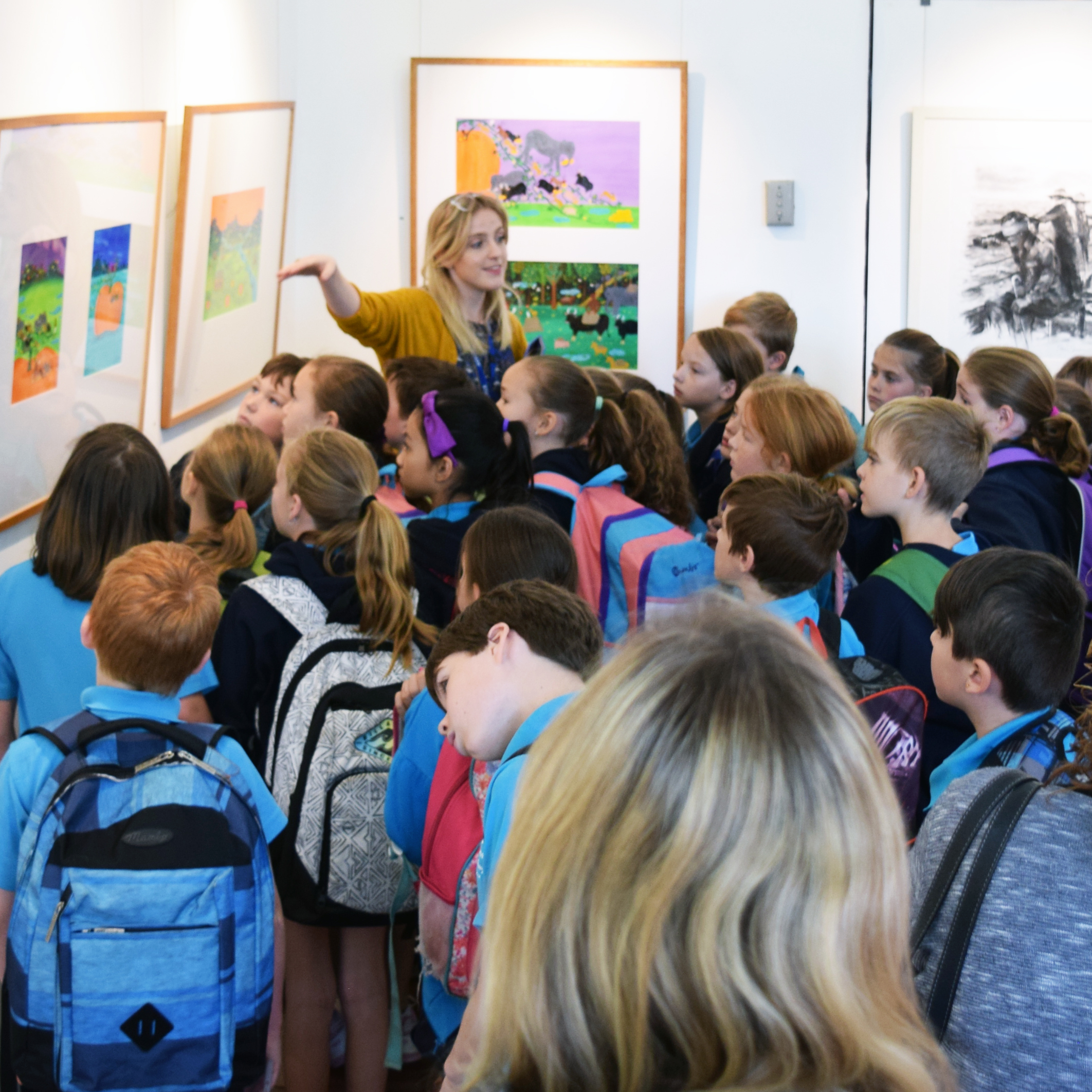 Exhibition Tours - Contact us for a FREE tour of an upcoming exhibition with your class.