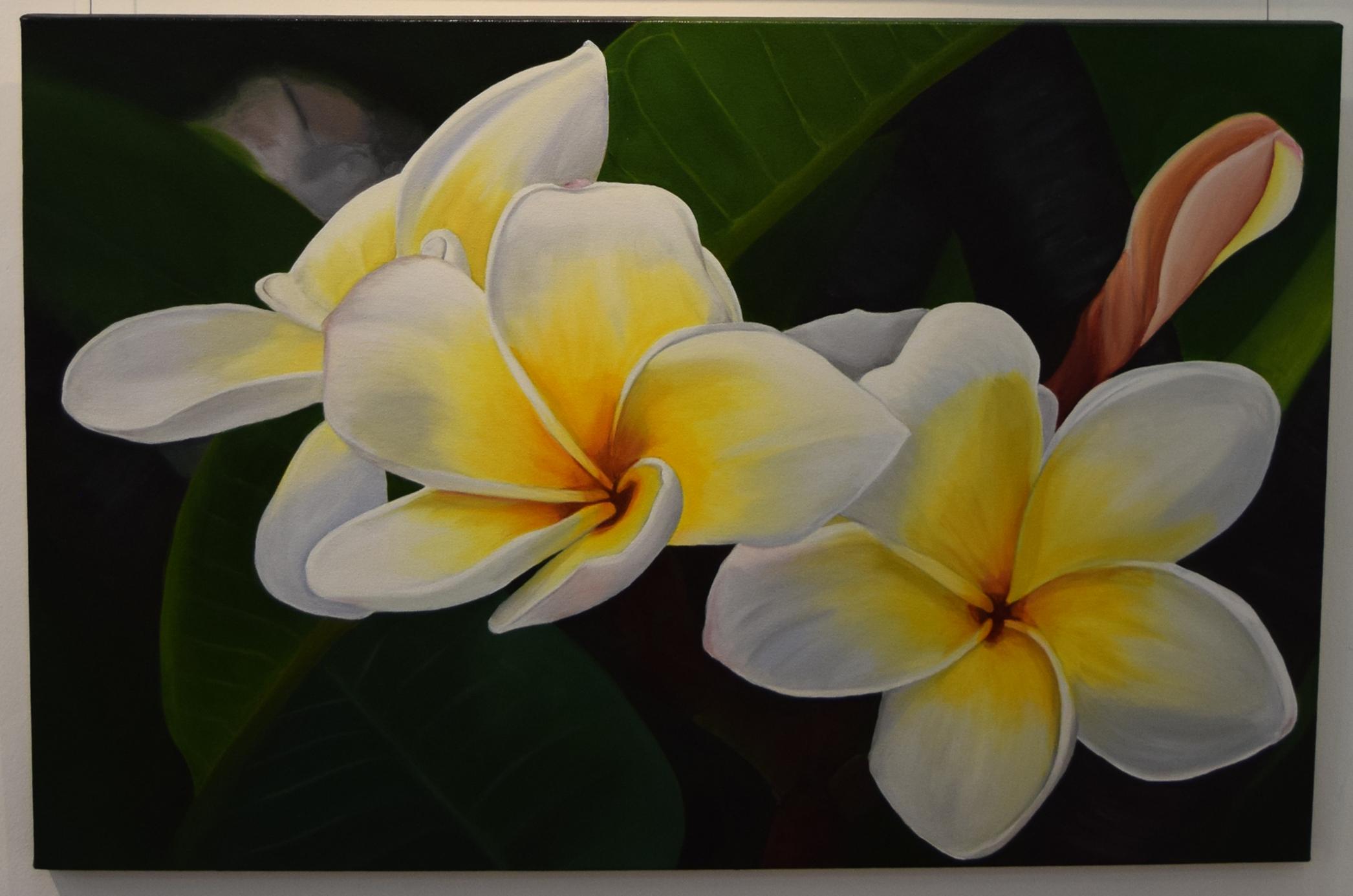 6. Hayley Krüger Gradwell, Scent of Summer, 2018, acrylic on canvas, 61 x 91 cm, $850