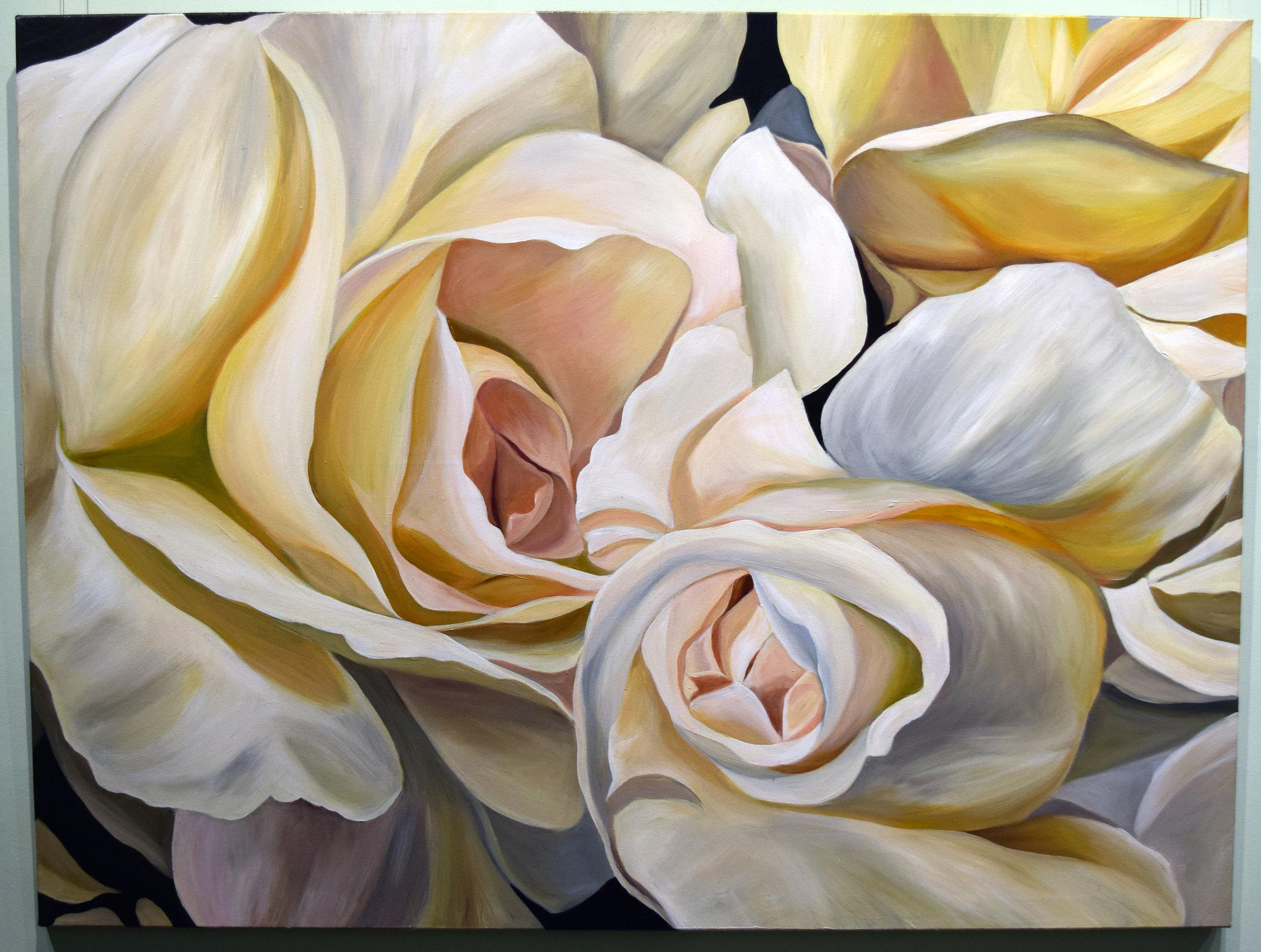 24. Jacqueline Coates, Tints and Shades, 2011, acrylic on canvas, 90 x 120 cm, $3,850