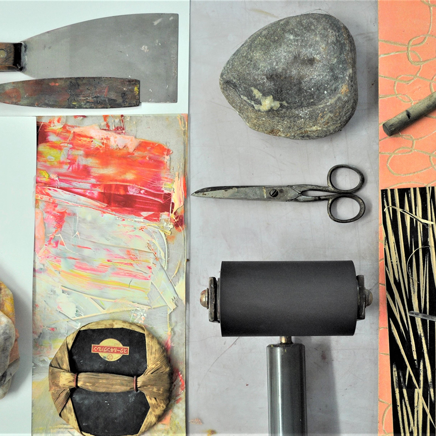 paper, scissors, rock printmaking - Using rock, paper and scissors as both the inspiration and instrument, join artist Monique Bosshard-Curby in this experimental printmaking workshop and leave with a small series of unique prints.11am - 2pm15+ yrs$30 | $27 MAC MembersMaterials supplied