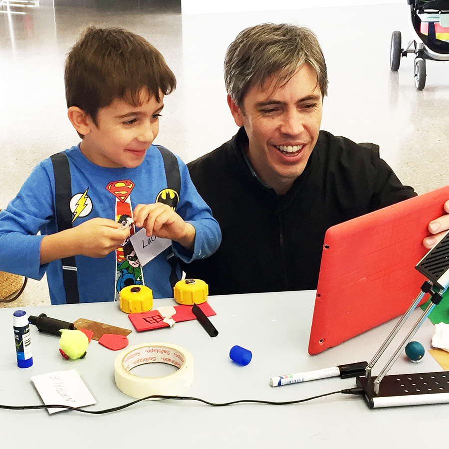 Stop Motion Animation - Join master of animation Steven Aiton to create a collaborative stop motion animation, using the latest technology and old tools from the Midland Railyards.11am - 2pmFREE