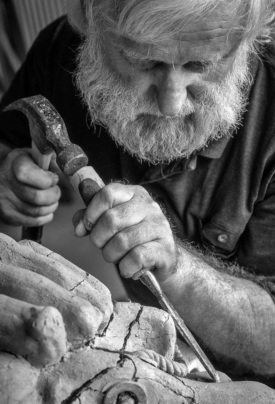 Paul Bastian,  The Sculptor