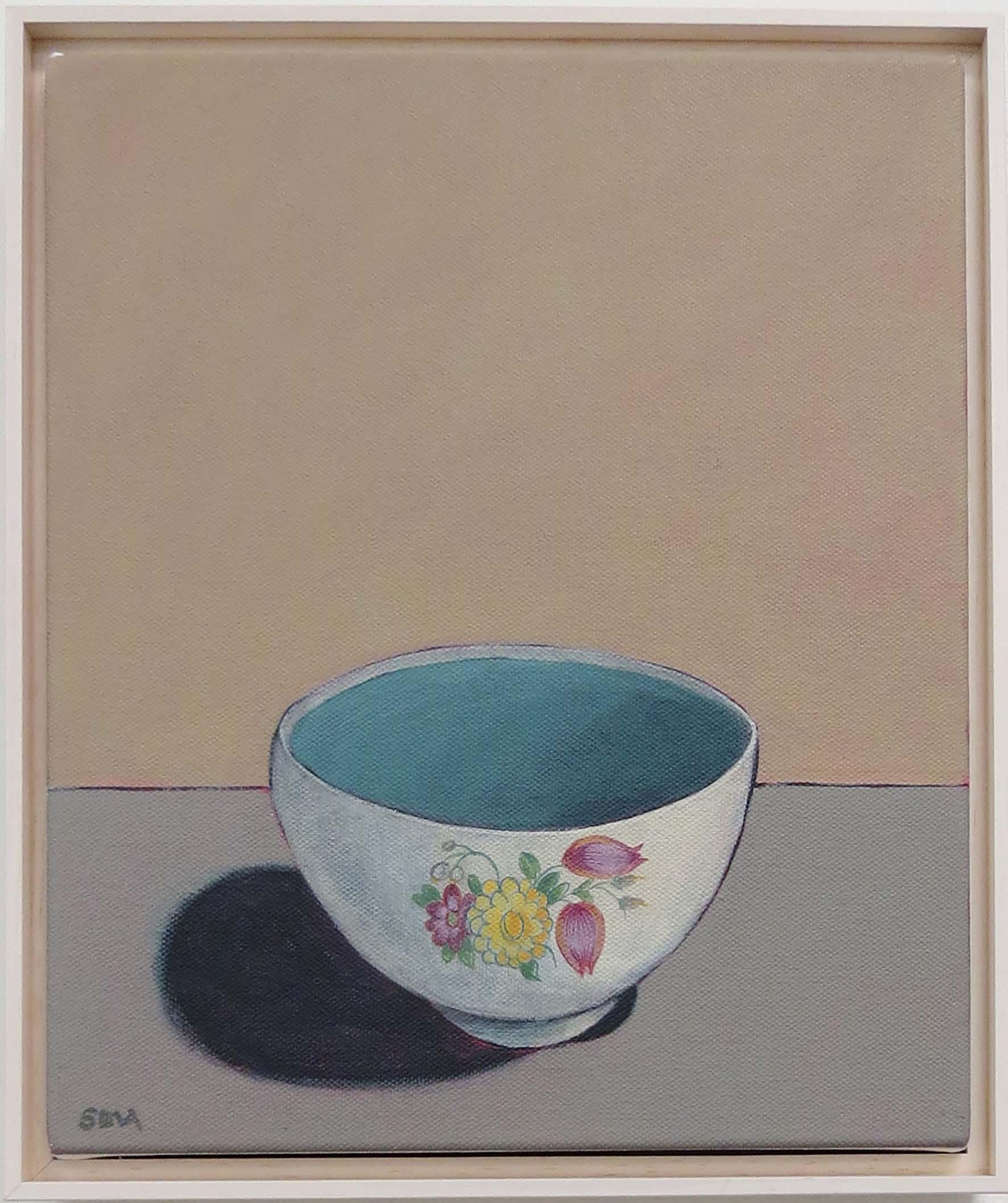 8. Sue Eva, 'Susie Cooper', 2018, Acrylic on canvas, 30 x 25cm, $345