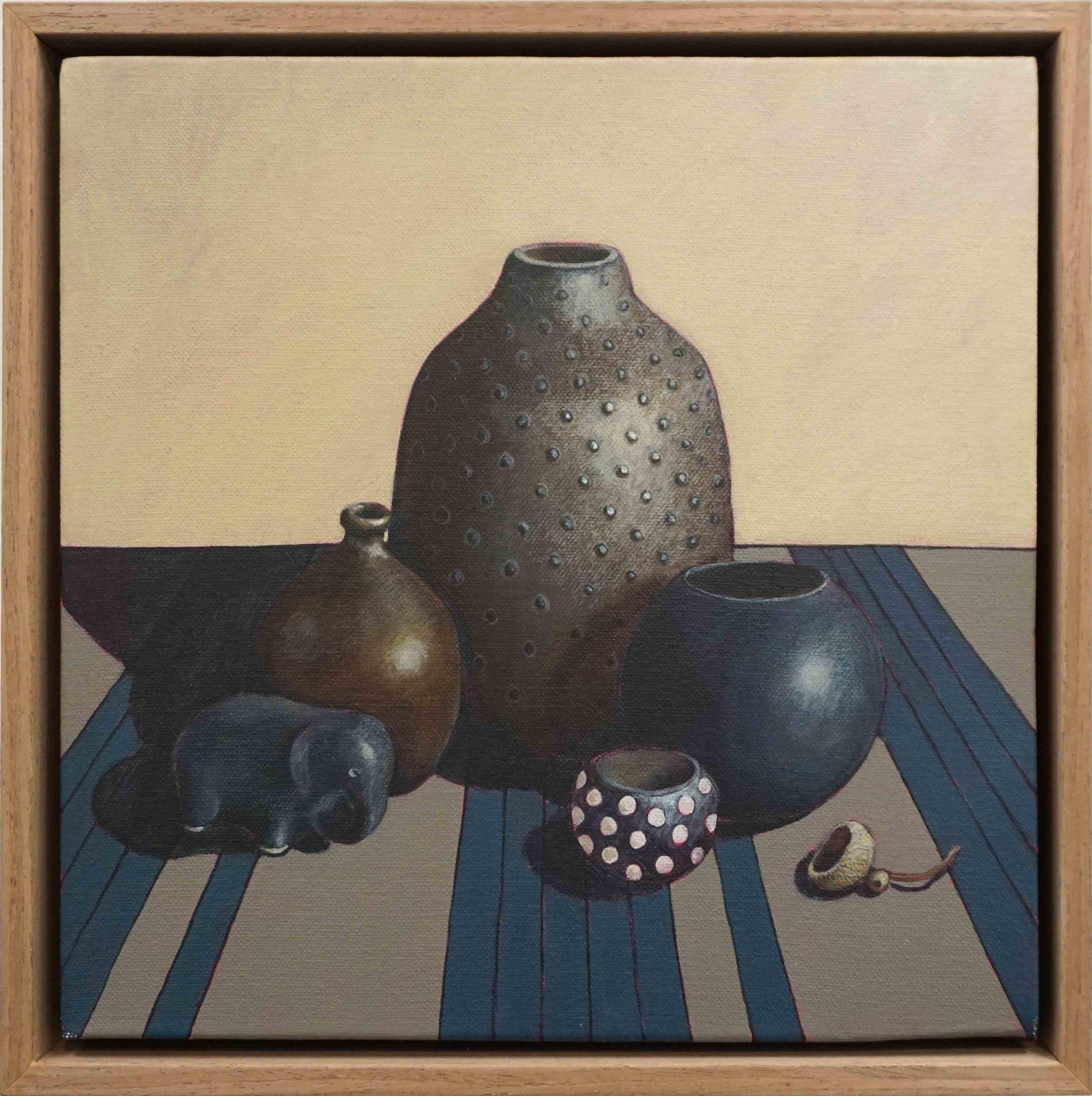 14. Sue Eva, 'African Feel', 2018, Acrylic on canvas, 30 x 30cm, $445