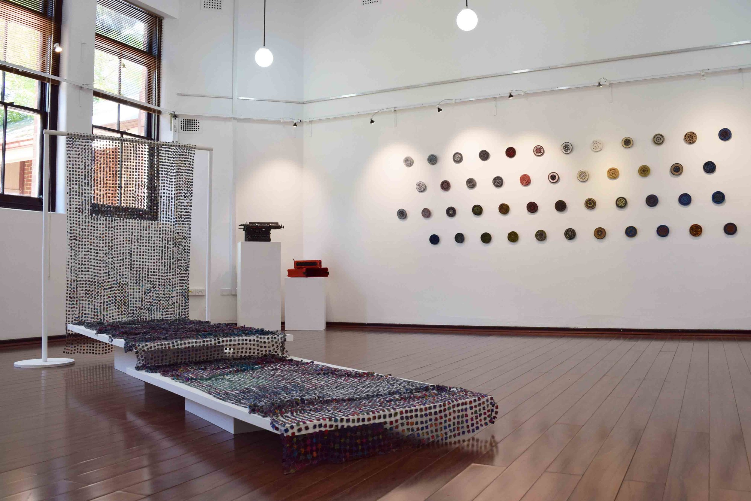 Of Our Time - Ordinary Lives , exhibition view.