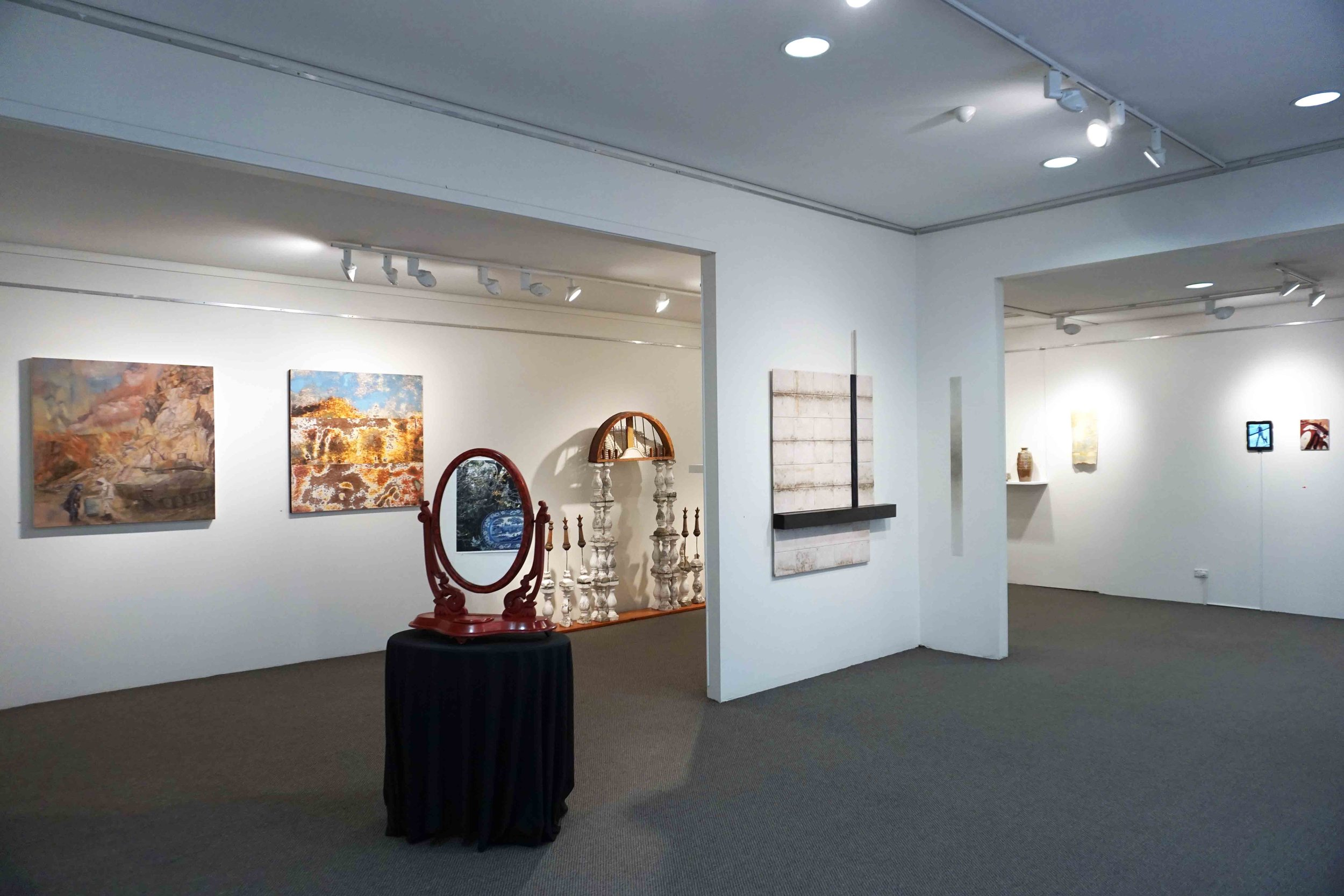 Continuity and Change  exhibition view