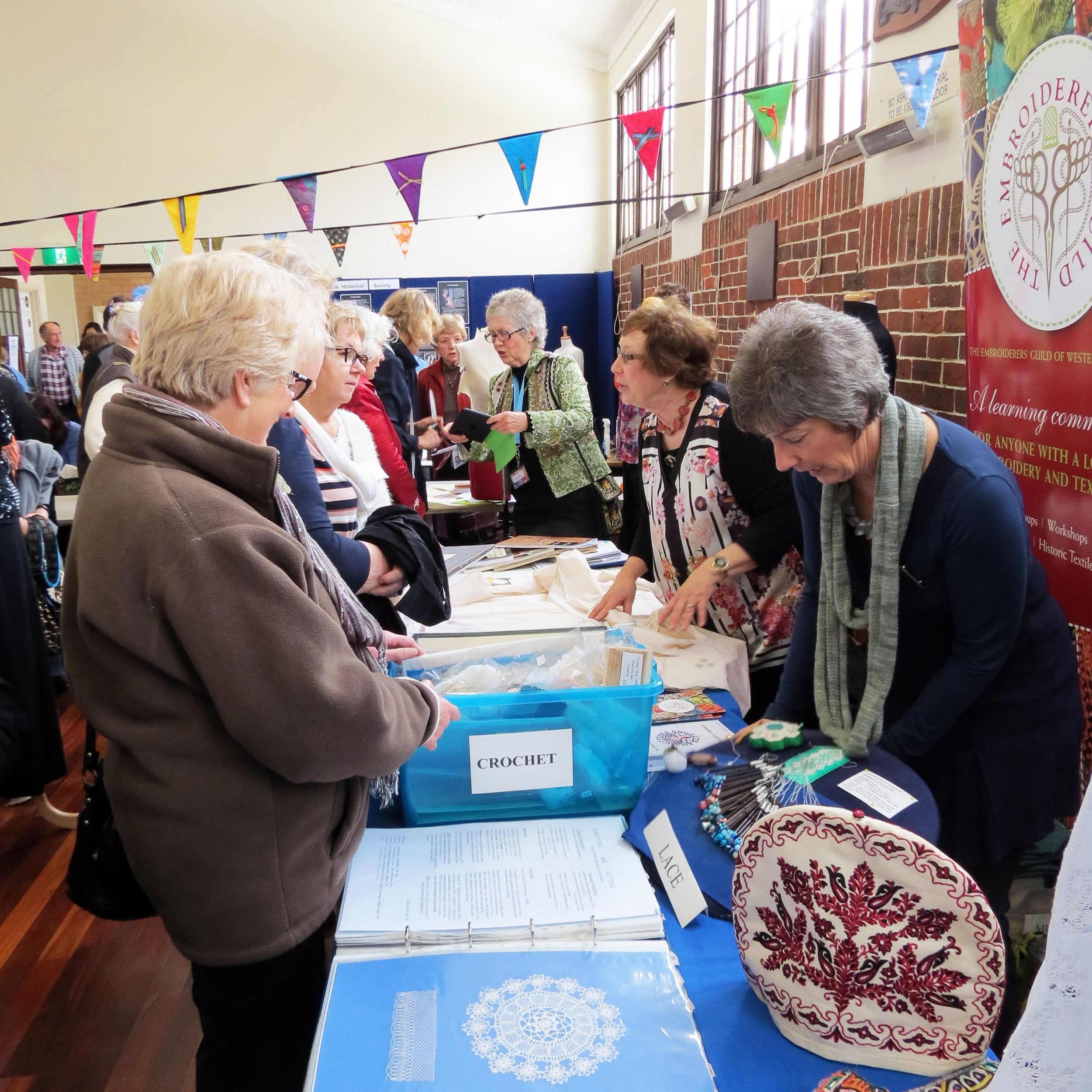 More than one way to sow - The Embroiders' Guild of Western Australia invite you to see an exquisite showcase of flora inspired textiles. Drop in for a short textile conservation talk at 10.30am or 2.30pm, notes supplied.10am - 3pm | Display10.30am & 2.30pm | Talks FREE Mundaring Hall